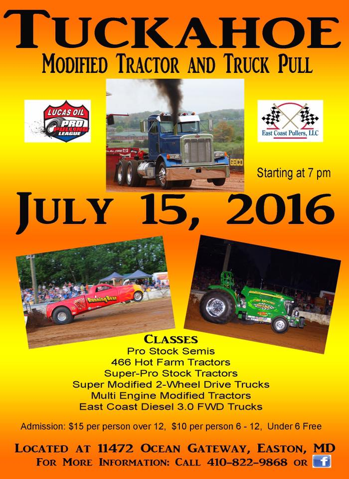 Truck and Tractor Pull at Tuckahoe Steam and Gas